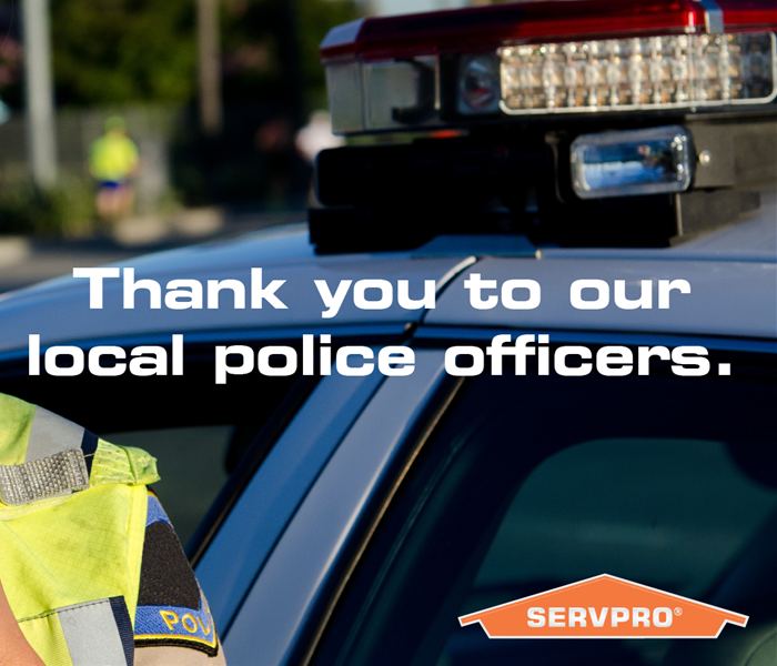 Community SERVPRO of Rancho Santa Margarita/Coto De Caza/Trabuco Canyon is Grateful - Local Police Force in Orange County, CA